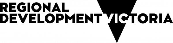 Regional Development Victoria Black Logo