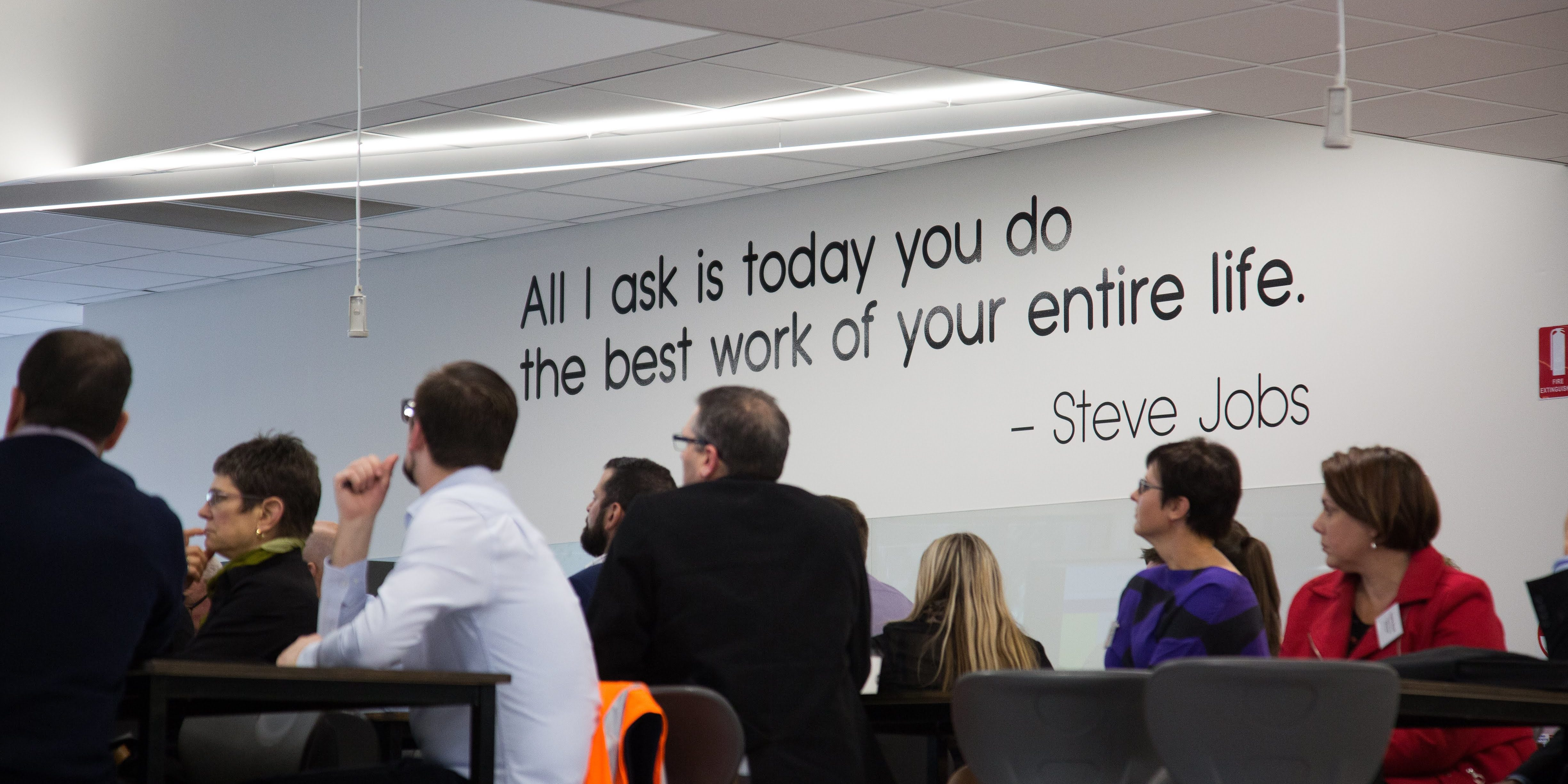 GROW Gippsland - Quote In Presentation Room