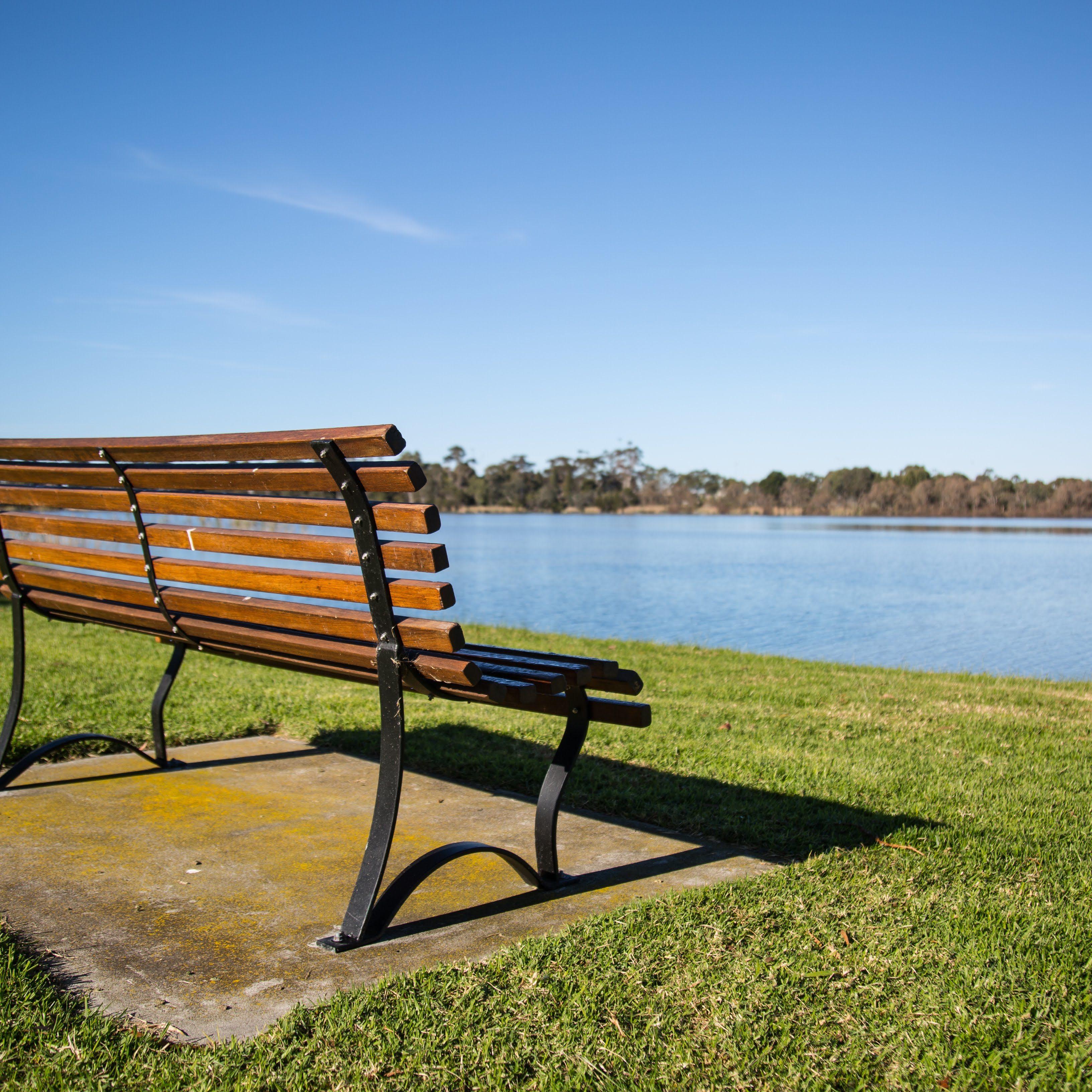 GROW Gippsland - Park Bench By Lake