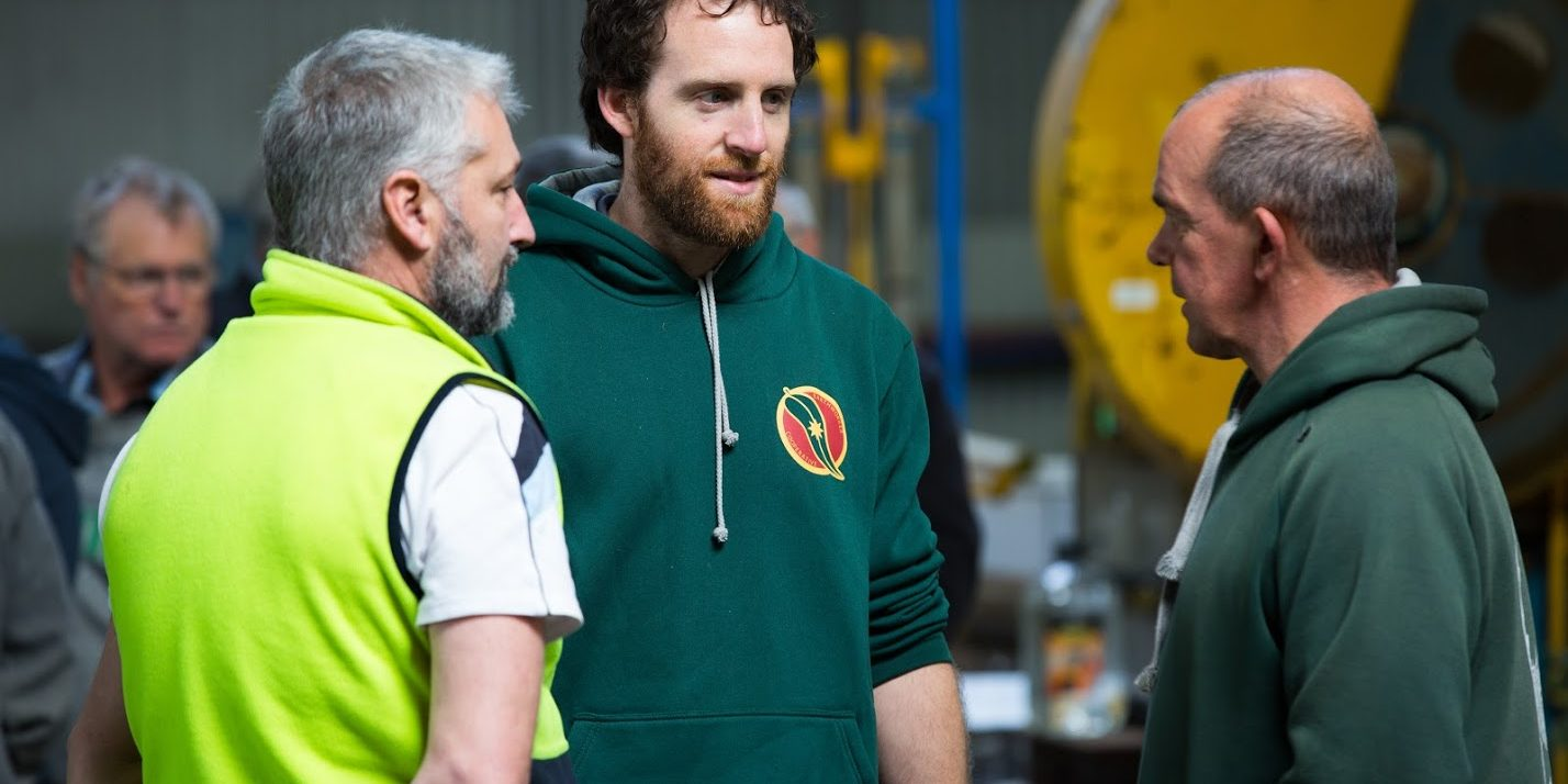 Grow Gippsland participants from Earthworker Energy Manufacturing Cooperative
